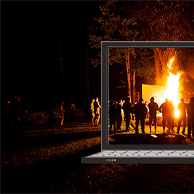 Virtual Campfires with Zoom